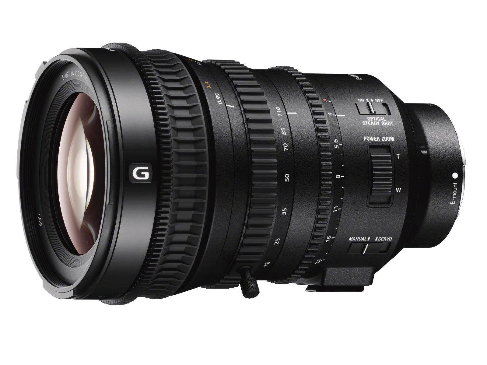 索尼发布E PZ 18-110mm F4 G OSS电动变焦镜头