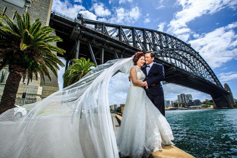 中老年澳洲纪念婚纱及豪华游