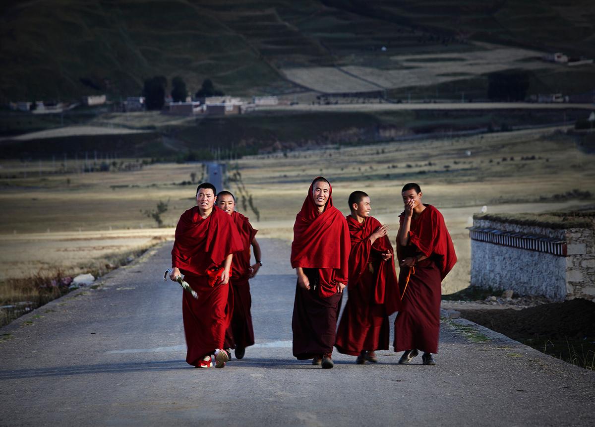 2017年5月川西寺庙佛事摄影创作团