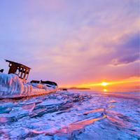 俄罗斯贝加尔湖-梦幻蓝冰8日摄影团!