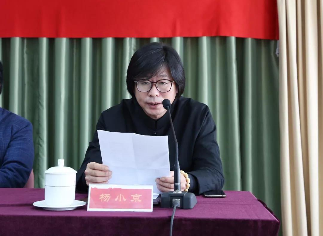 吴印咸家人代表、外孙杨小京在发布会上致辞。摄影:徐申.jpg