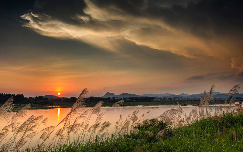《淠河黄昏》摄影:姜良臣_副本.jpg